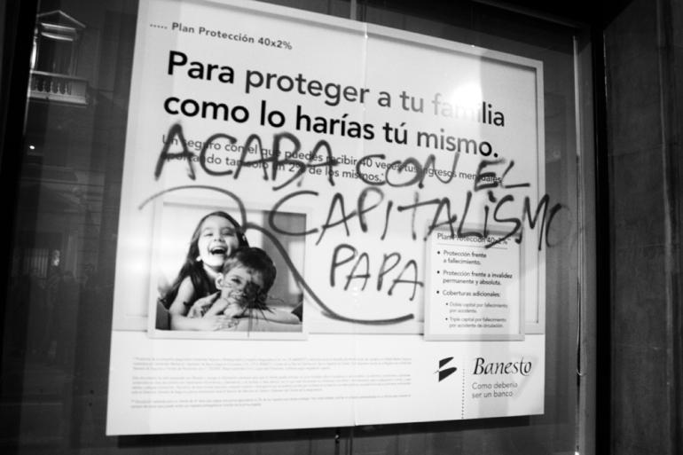 Acaba con el capitalismo papa