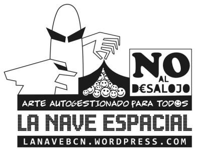 Logo - No al desalojo / DosVisual