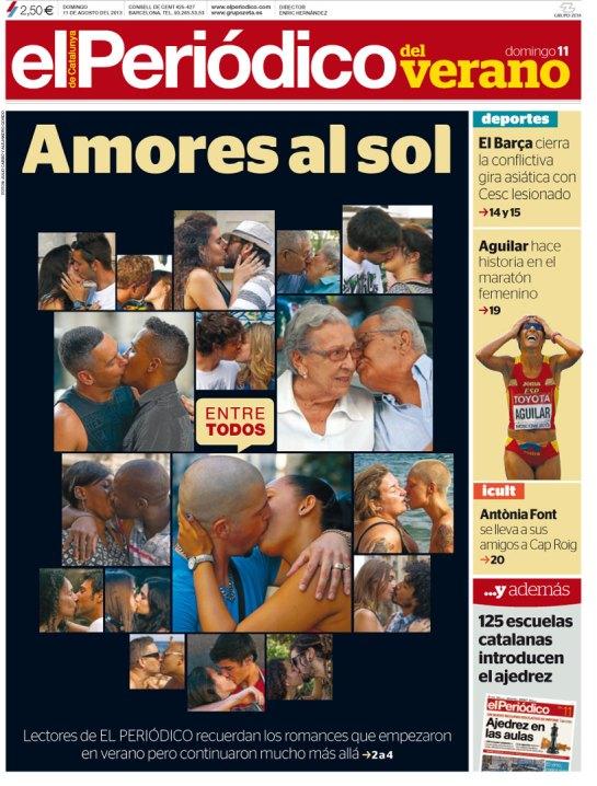 Portada El Periódico 11-08-2013