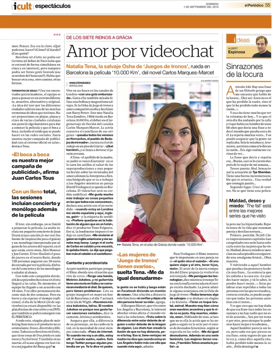 Natalia Tena - Amor por Videochat 1-sept-13 pag55