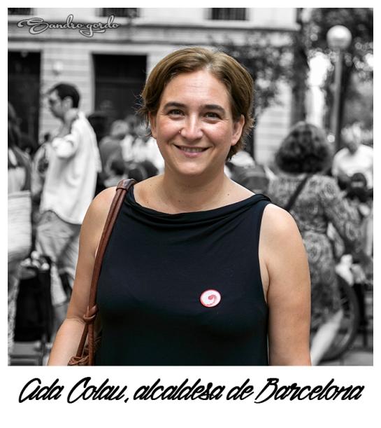 Retrato Ada Colau_Alcaldesa de BCN_Sandro Gordo_2