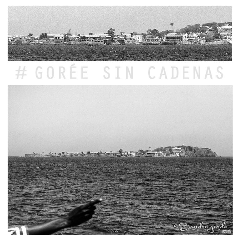 Collage_Gorée Sin Cadenas_Sandro Gordo