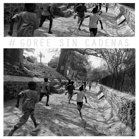 Collage GOREE sin cadenas 4 Niños