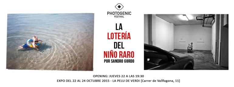 Portada evento Niño Raro - Photogenic